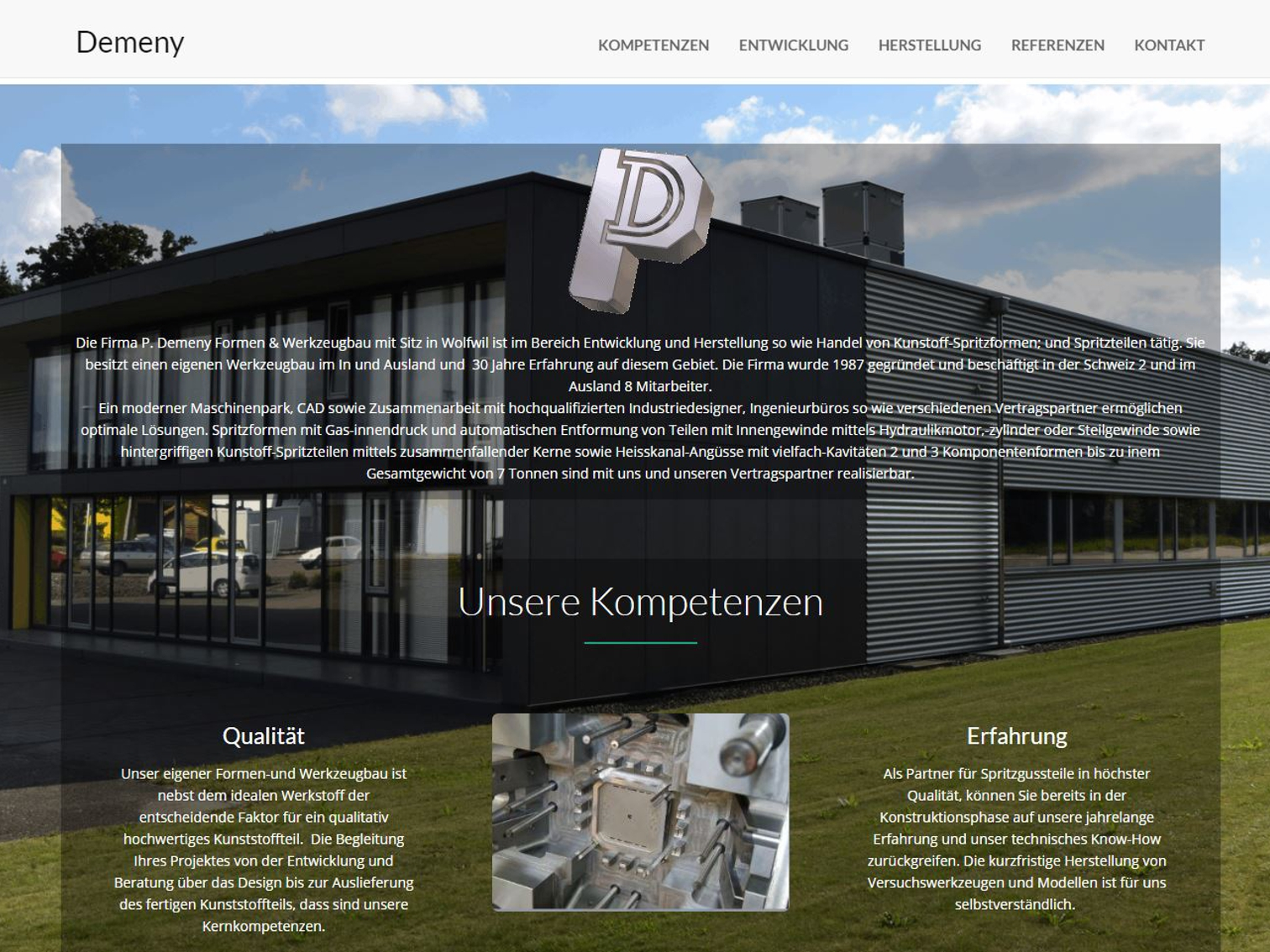 Demeny Website